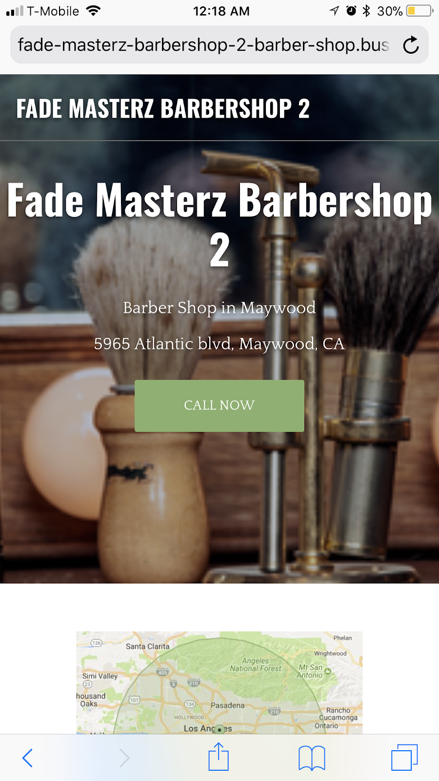 Fade Masterz Barbershop - hair care  | Photo 4 of 10 | Address: 4027 S Main St, Los Angeles, CA 90037, USA | Phone: (323) 474-1867