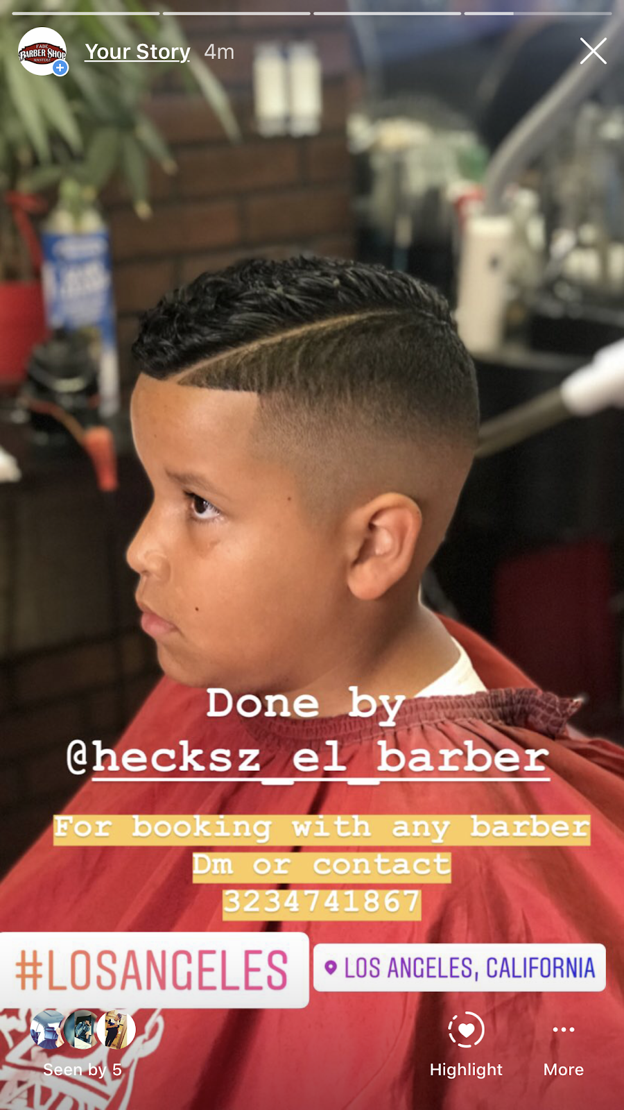 Fade Masterz Barbershop - hair care  | Photo 9 of 10 | Address: 4027 S Main St, Los Angeles, CA 90037, USA | Phone: (323) 474-1867