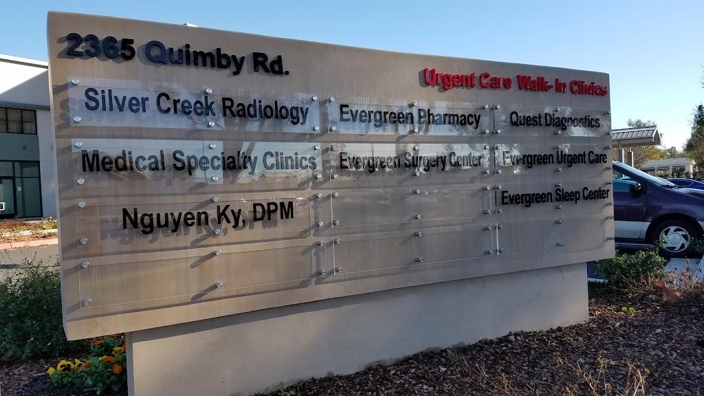 Evergreen Urgent Care - health  | Photo 8 of 10 | Address: 2365 Quimby Rd #160, San Jose, CA 95122, USA | Phone: (408) 550-2750
