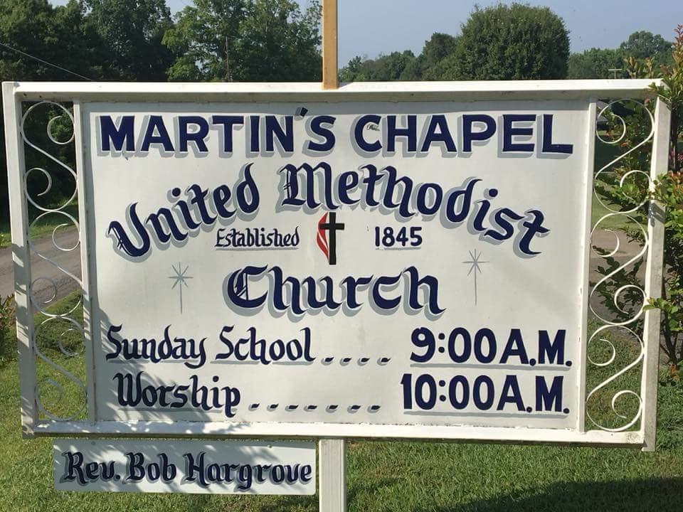 Martins Chapel United Methodist Church - church  | Photo 2 of 2 | Address: 2046 Martins Chapel Church Rd, Springfield, TN 37172, USA | Phone: (615) 974-4756