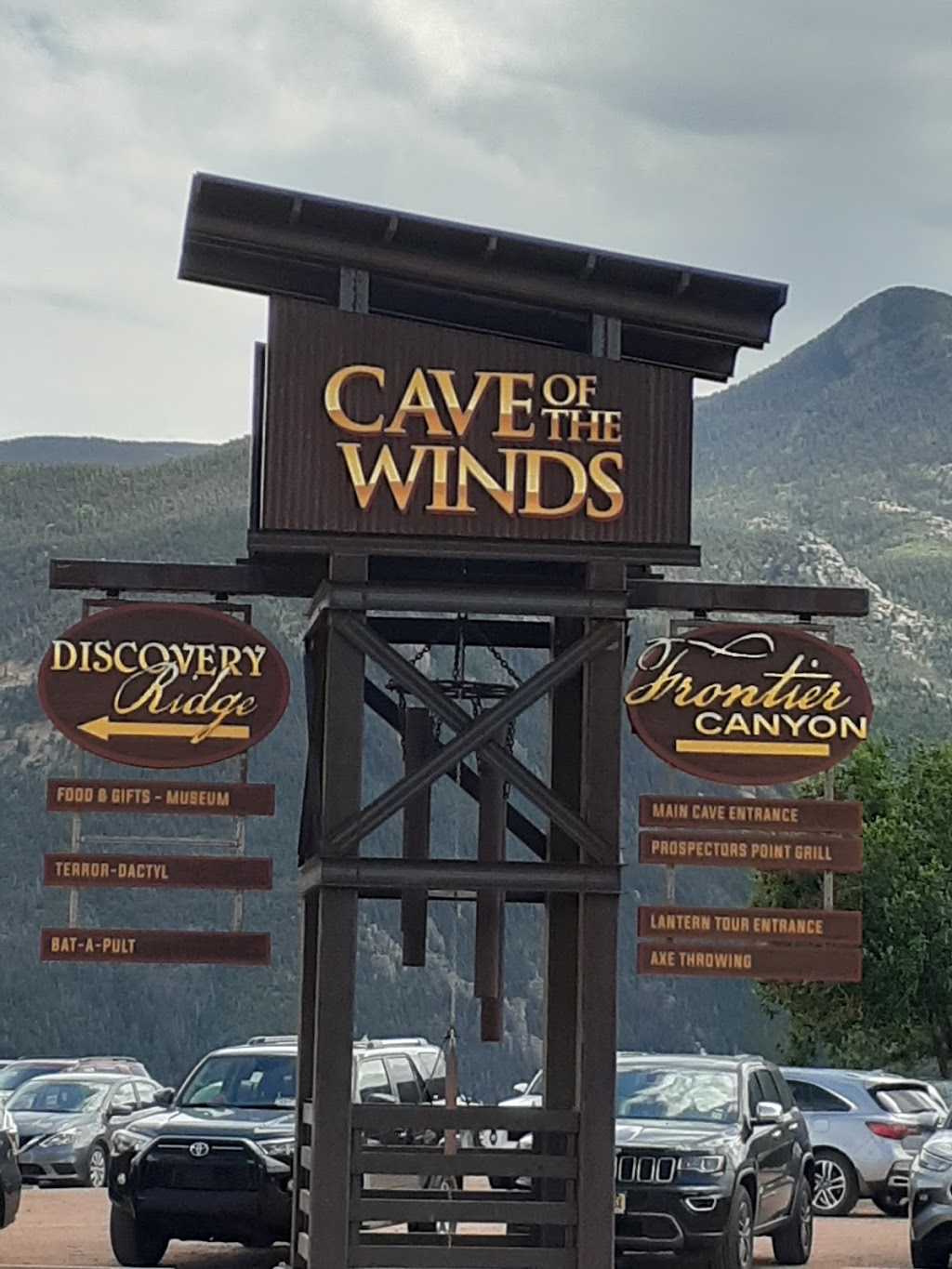 Via Ferrata Canyon - museum  | Photo 2 of 9 | Address: 100 Cave of the Winds Rd, Cascade, CO 80809, USA | Phone: (719) 685-5444
