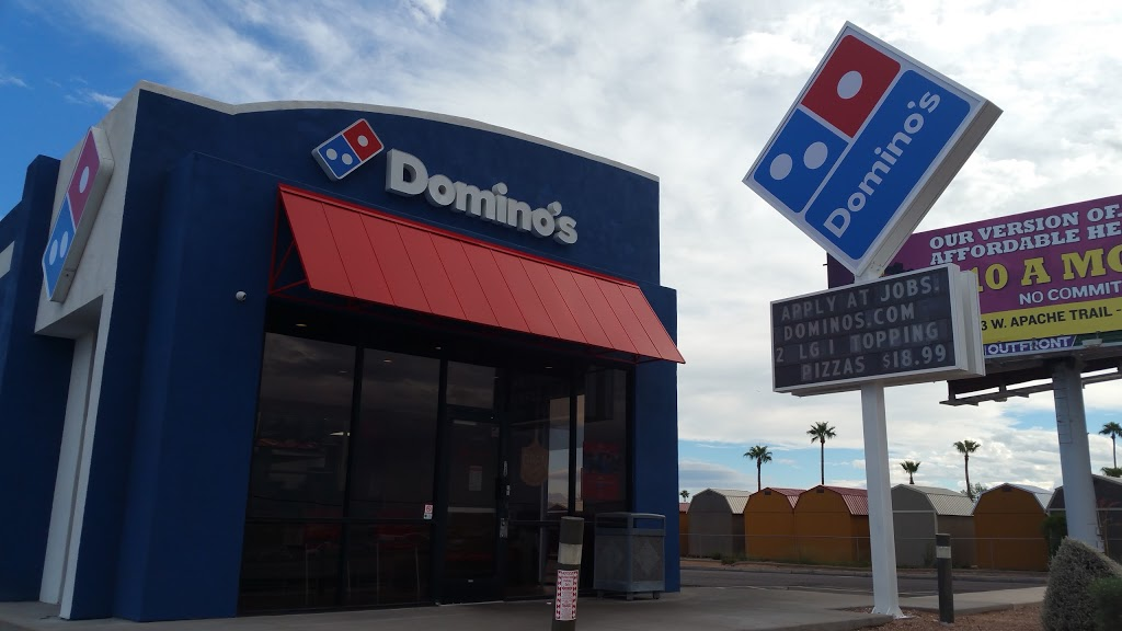 Dominos Pizza - meal delivery  | Photo 1 of 10 | Address: 10826 E Apache Trail, Apache Junction, AZ 85120, USA | Phone: (480) 380-3030