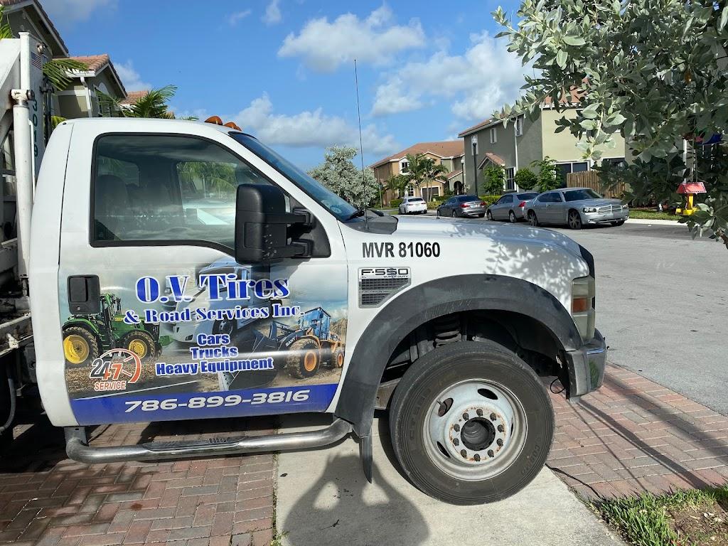 O.V Tires & Road Services Inc - car repair  | Photo 1 of 10 | Address: 2420 SE 15th St, Homestead, FL 33035, USA | Phone: (786) 899-3816