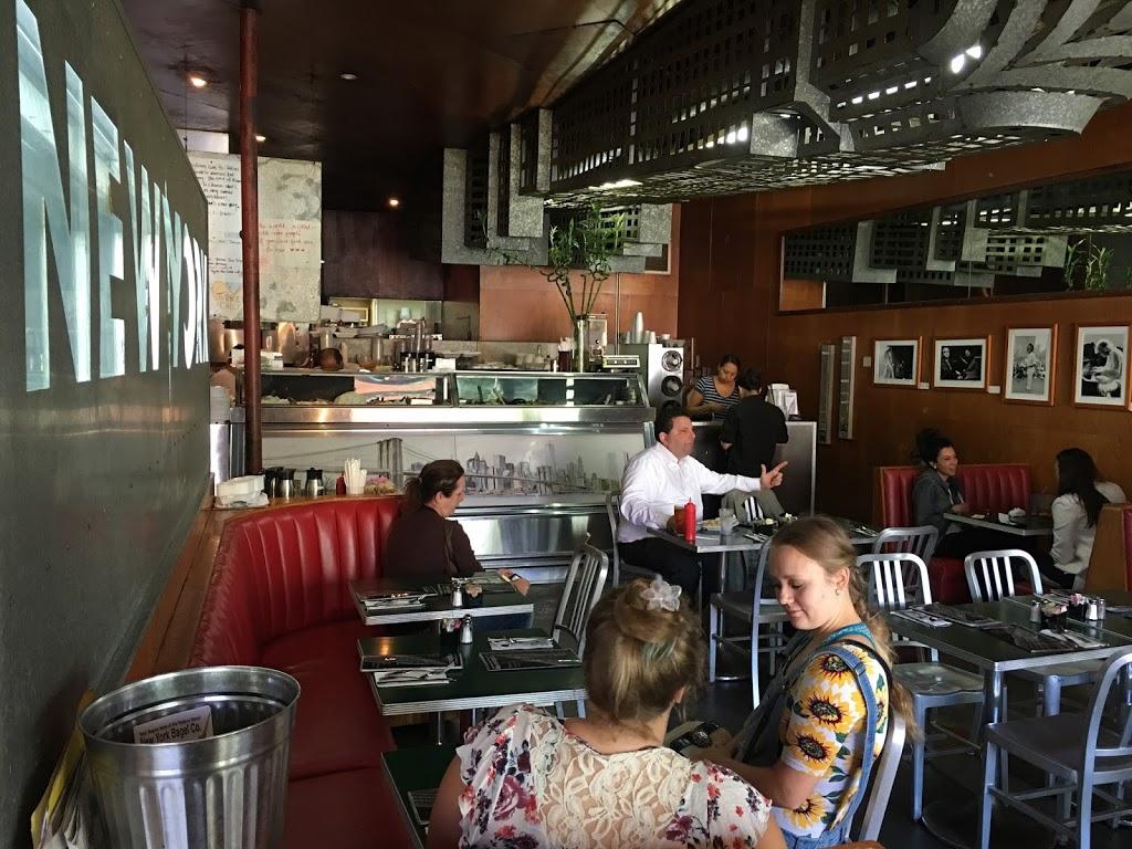 New York Bagel Co. - restaurant  | Photo 1 of 9 | Address: 11640 San Vicente Blvd, Los Angeles, CA 90049, USA | Phone: (310) 820-1050