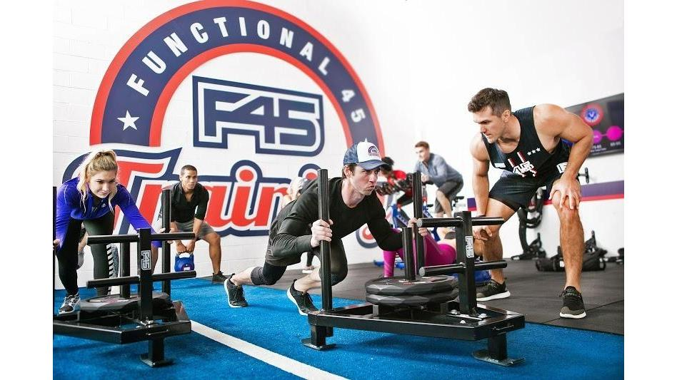 F45 Training Stetson Hills (Colorado Springs) - gym  | Photo 1 of 10 | Address: 5860 Barnes Rd, Colorado Springs, CO 80922, USA | Phone: (719) 465-9116