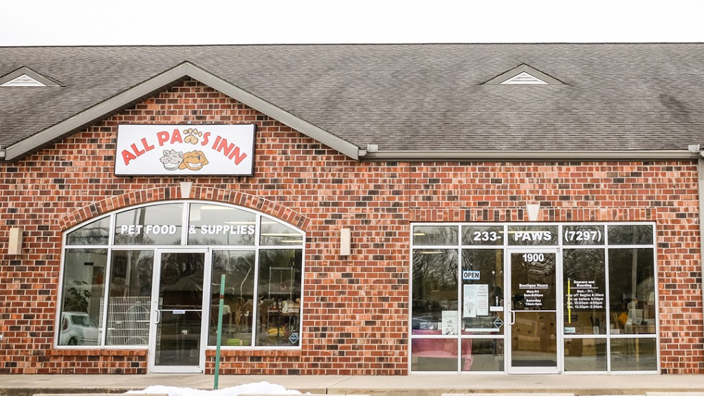 All Paws Inn Pet Resort and Daycare - pet store  | Photo 1 of 10 | Address: 1900 Lebanon Ave, Belleville, IL 62221, USA | Phone: (618) 233-7297