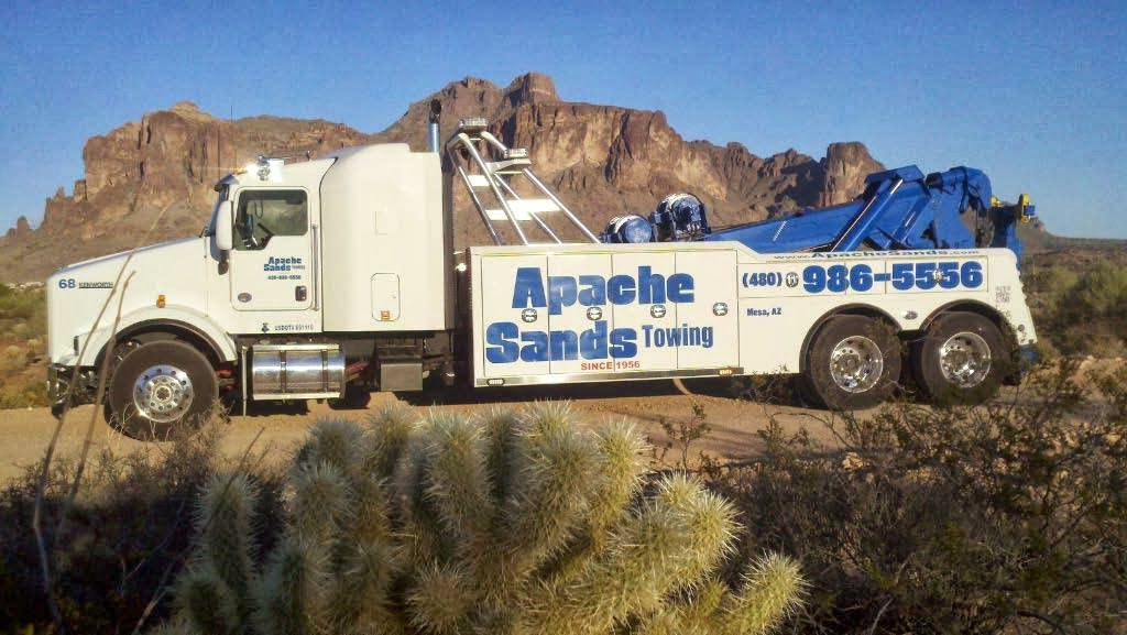 Apache Sands Service Center - car repair    Photo 9 of 10   Address: 7602 E Main St, Mesa, AZ 85207, USA   Phone: (480) 984-3101