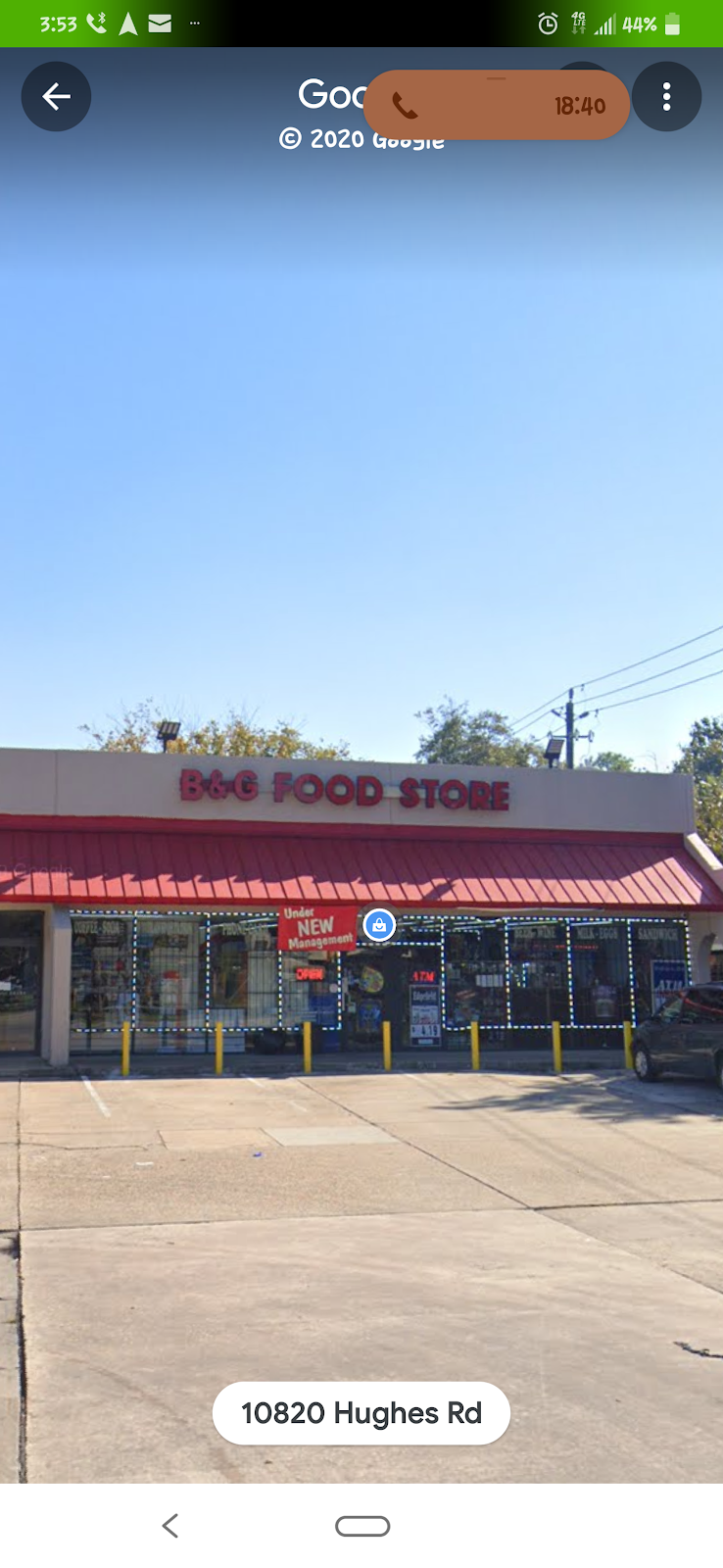The New B & G Food Store - convenience store  | Photo 1 of 10 | Address: Hughes Rd, Houston, TX 77089, USA | Phone: (832) 230-4195
