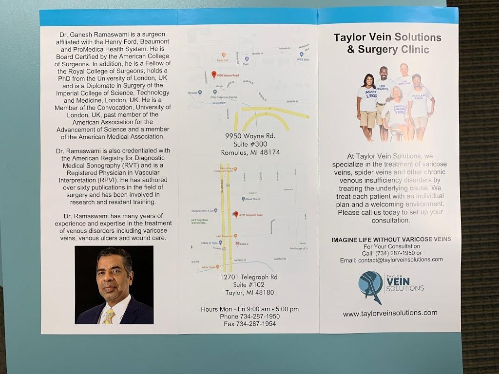 Taylor Vein Solutions - hospital  | Photo 8 of 8 | Address: 12701 Telegraph Rd #102, Taylor, MI 48180, USA | Phone: (734) 287-1950