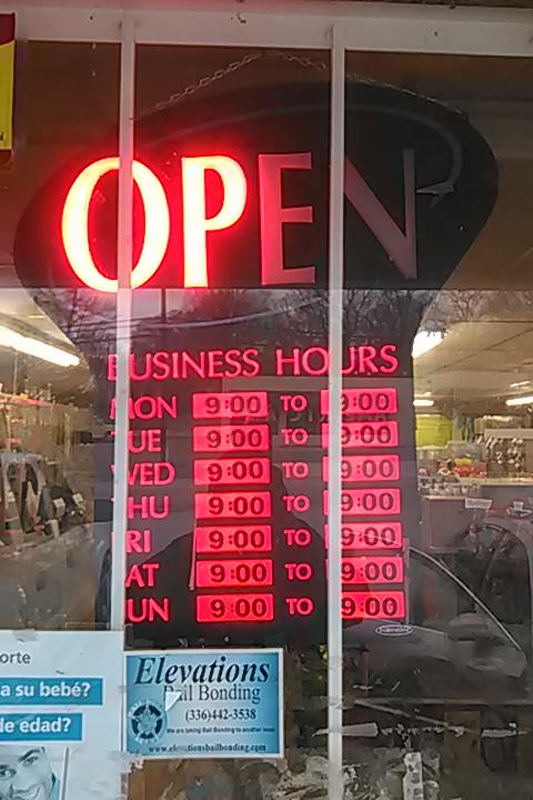 Cielito Lindo - store    Photo 9 of 10   Address: 518 National Hwy, Thomasville, NC 27360, USA   Phone: (336) 476-5225