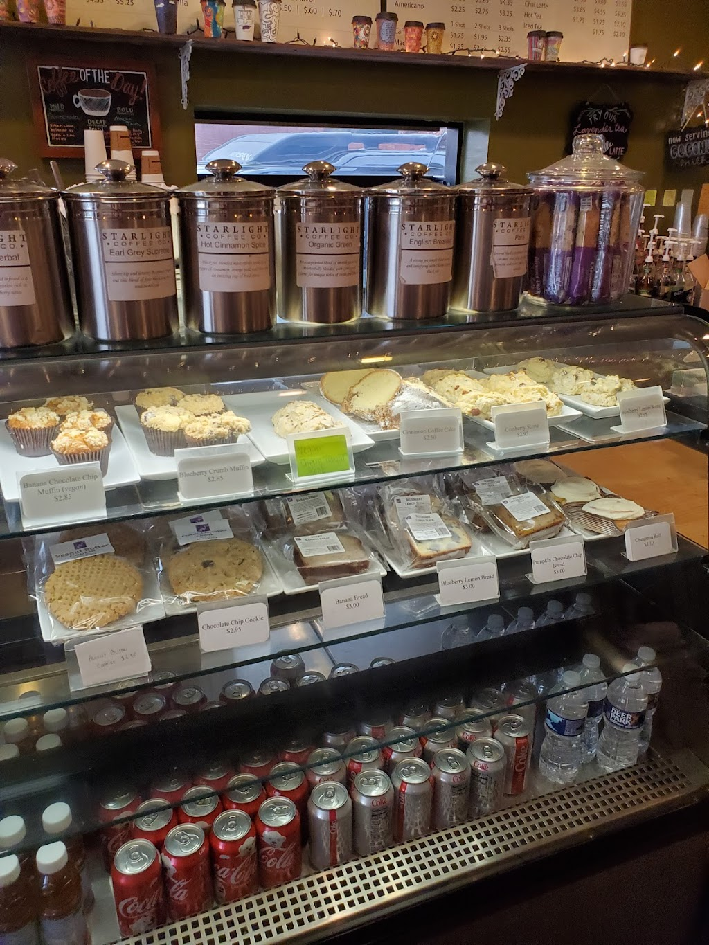 Starlight Coffee Co. - cafe  | Photo 1 of 9 | Address: 101 Lafollette Station Dr, Floyds Knobs, IN 47119, USA | Phone: (812) 923-1404