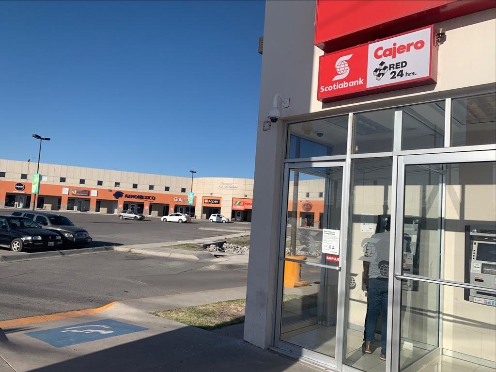 Scotiabank Campos Elíseos - bank  | Photo 1 of 4 | Address: Antonio J. Bermudez Industrial Park, Bulevar Tomás Fernández 8770 Fracc, Bermúdez, 32470 Cd Juárez, Chih., Mexico | Phone: 800 704 5900