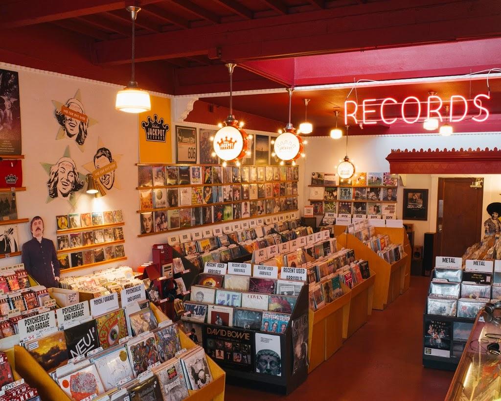 Jackpot Records - electronics store    Photo 6 of 10   Address: 3574 SE Hawthorne Blvd, Portland, OR 97214, USA   Phone: (503) 239-7561