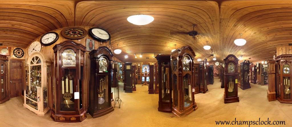 Champs Clock Shop - museum    Photo 2 of 10   Address: 3834 King Dr, Douglasville, GA 30135, USA   Phone: (770) 942-2128