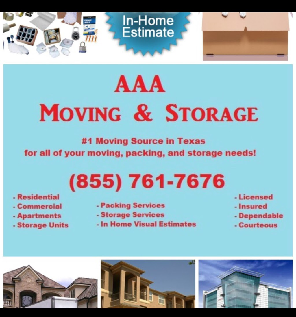 AAA Moving & Storage - moving company  | Photo 3 of 10 | Address: 11319 Indian Trail, Dallas, TX 75229, USA | Phone: (855) 761-7676