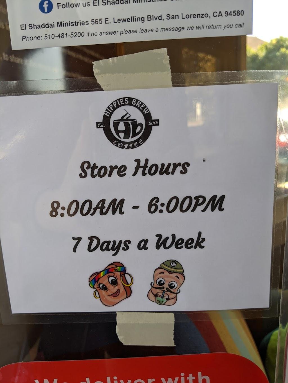 Hippies Brew - cafe  | Photo 9 of 10 | Address: 3900 Smith St, Union City, CA 94587, USA | Phone: (510) 969-2739