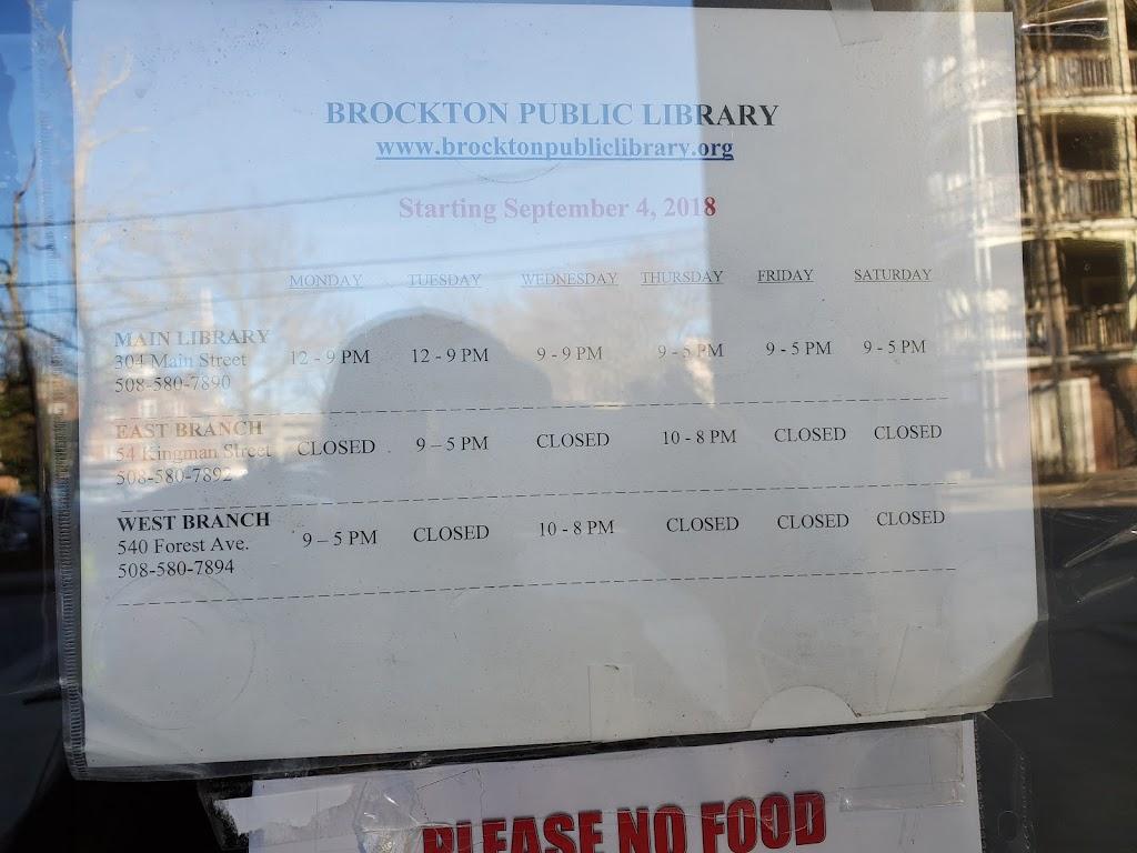 Brockton Public Library - parking    Photo 8 of 10   Address: 304 Main St, Brockton, MA 02301, USA   Phone: (508) 580-7890