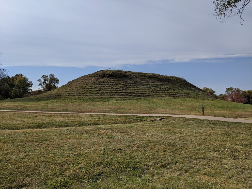 Cahokia Mounds Museum Society - museum    Photo 2 of 10   Address: 30 Ramey St, Collinsville, IL 62234, USA   Phone: (618) 344-9221