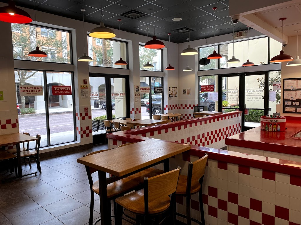 Five Guys - meal takeaway  | Photo 4 of 10 | Address: 4821 New Broad St, Orlando, FL 32814, USA | Phone: (407) 219-3366