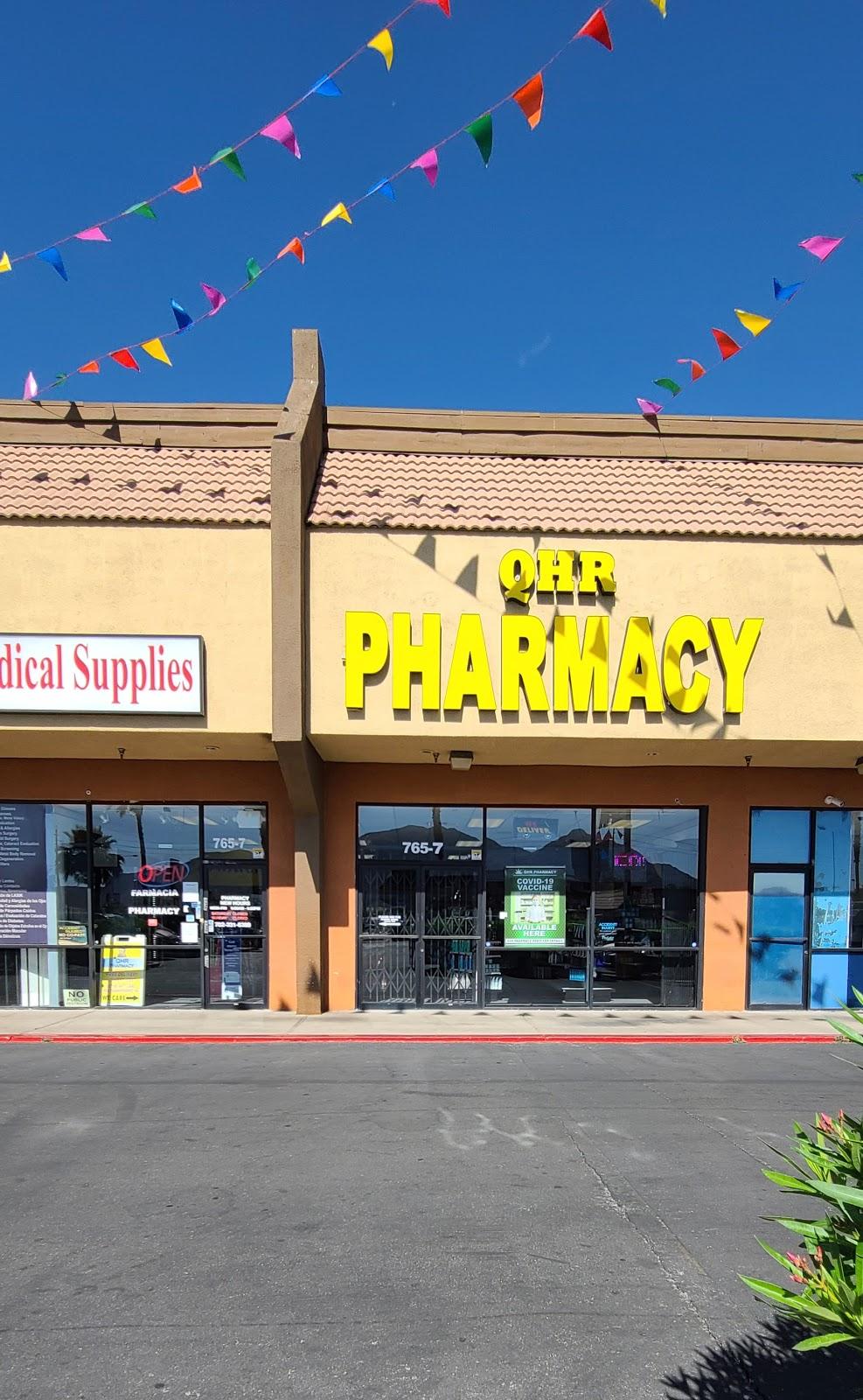 QHR Pharmacy - pharmacy    Photo 3 of 5   Address: 765 N Nellis Blvd #7, Las Vegas, NV 89110, USA   Phone: (702) 331-6388