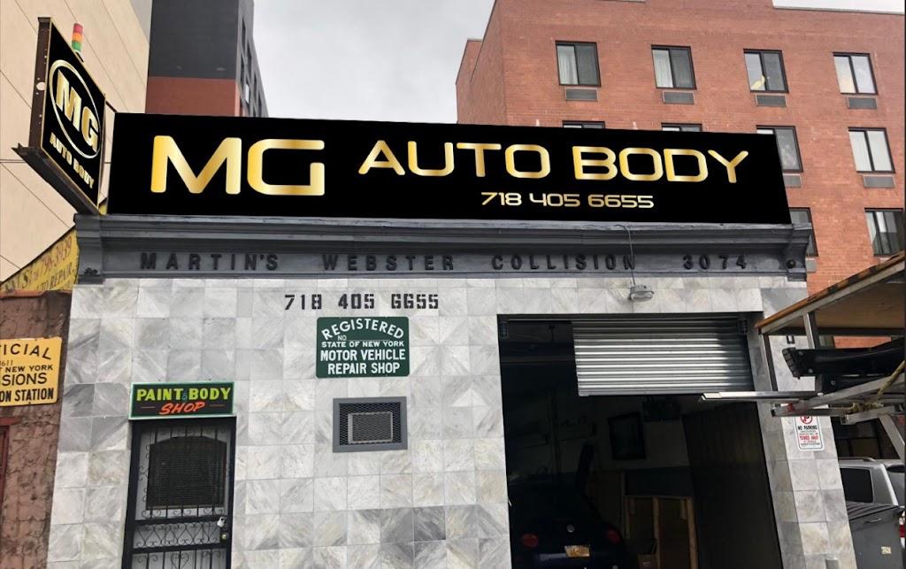 MG Auto Body Inc. - car repair  | Photo 1 of 1 | Address: 3074 Webster Ave, Bronx, NY 10467, USA | Phone: (718) 405-6655