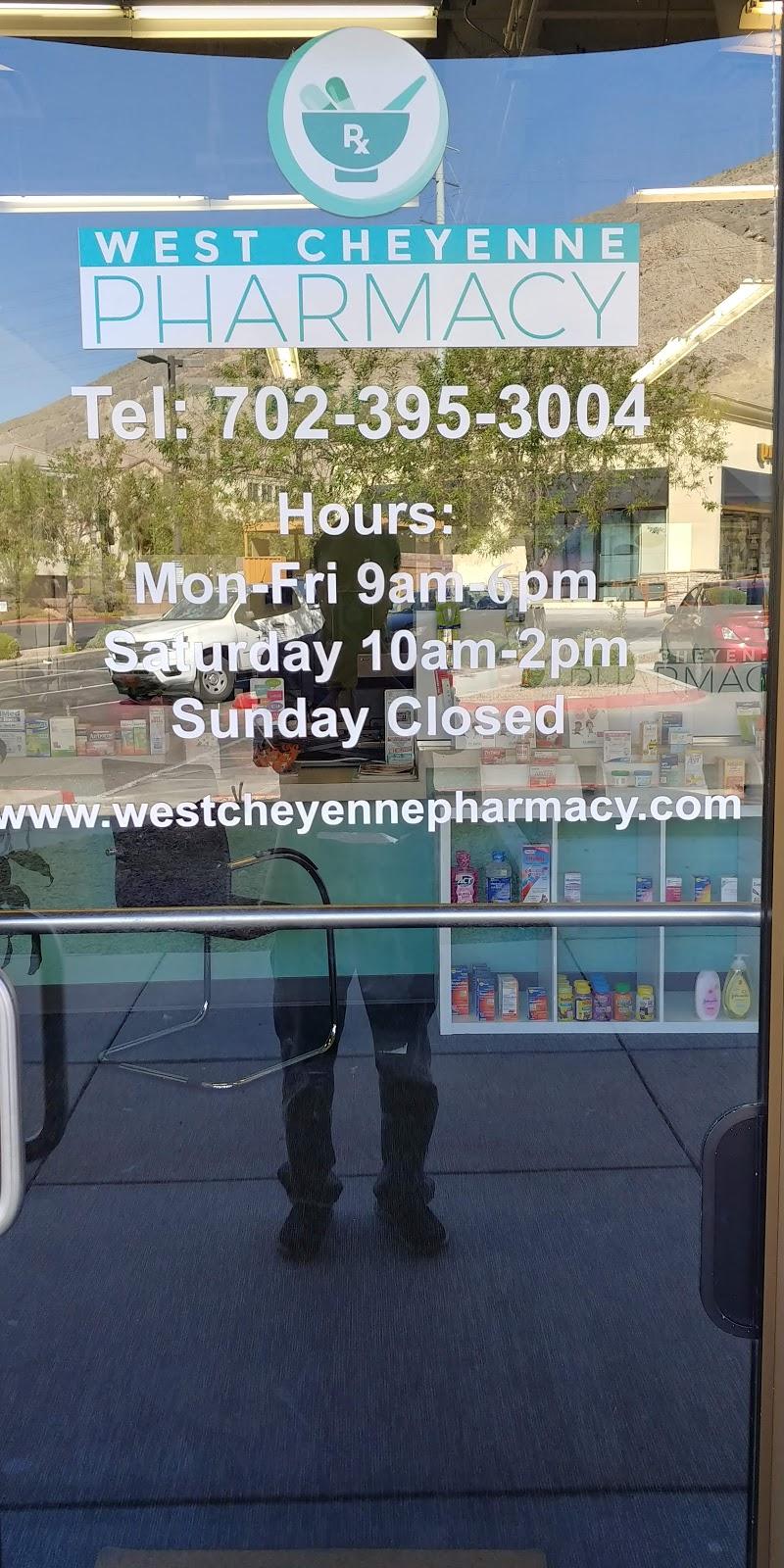 West Cheyenne Pharmacy - pharmacy    Photo 8 of 8   Address: 3350 Novat St suite 110, Las Vegas, NV 89129, USA   Phone: (702) 395-3004