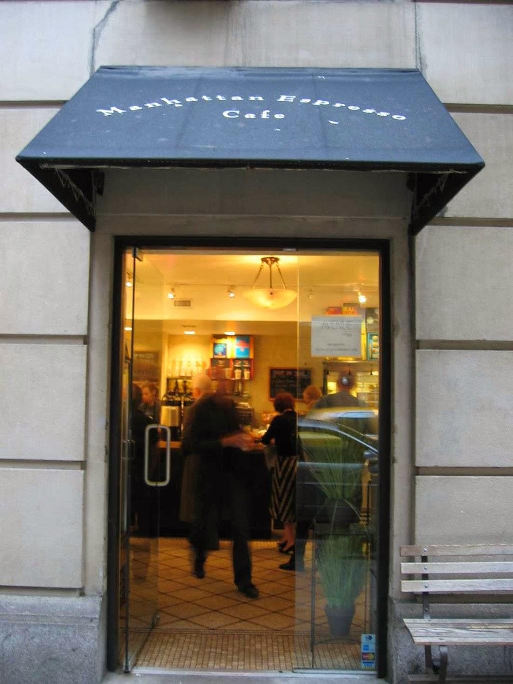 Manhattan Espresso Cafe - bakery  | Photo 1 of 10 | Address: 146 E 49th St, New York, NY 10017, USA | Phone: (212) 832-3010