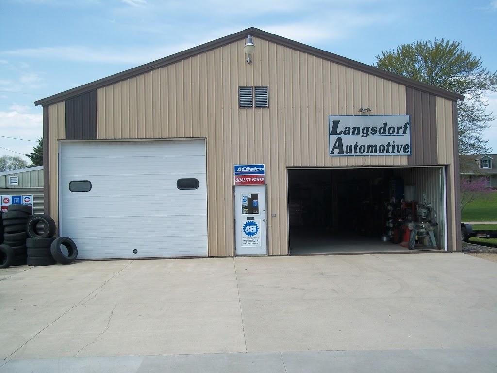 Langsdorf Automotive - car repair  | Photo 2 of 4 | Address: W 2989 Doyle Street, Doylestown, WI 53928, USA | Phone: (920) 992-3640