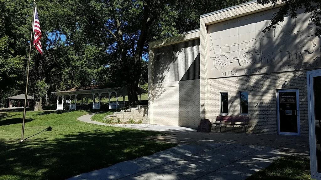 Mills County Historical Museum - museum    Photo 8 of 10   Address: 20 Lake Dr, Glenwood, IA 51534, USA   Phone: (712) 527-5038