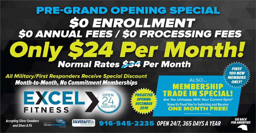 Excel Fitness Fair Oaks - spa  | Photo 4 of 7 | Address: 8525 Madison Ave Suite 135, Fair Oaks, CA 95628, USA | Phone: (916) 545-2235