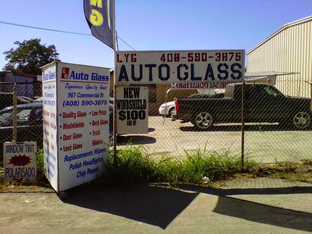 LG Auto Glass - car repair    Photo 2 of 10   Address: 1199 S 1st St, San Jose, CA 95110, USA   Phone: (408) 590-3875