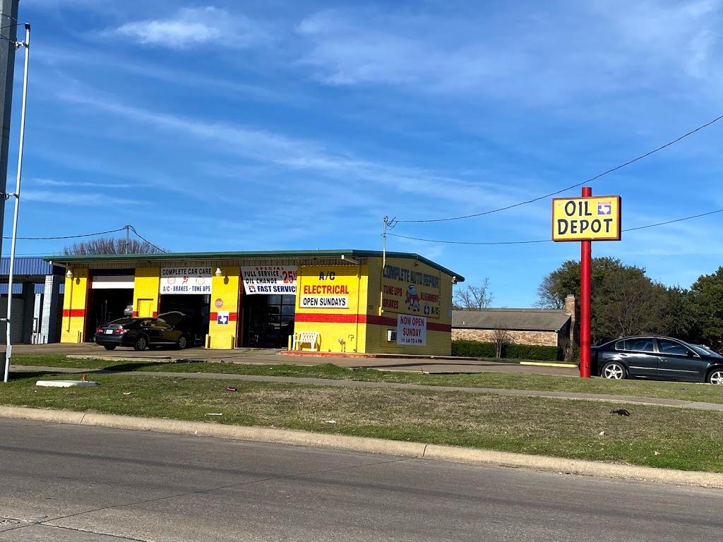 Oil Depot - car repair  | Photo 3 of 3 | Address: 1121 Rowlett Rd, Garland, TX 75043, USA | Phone: (469) 814-0400
