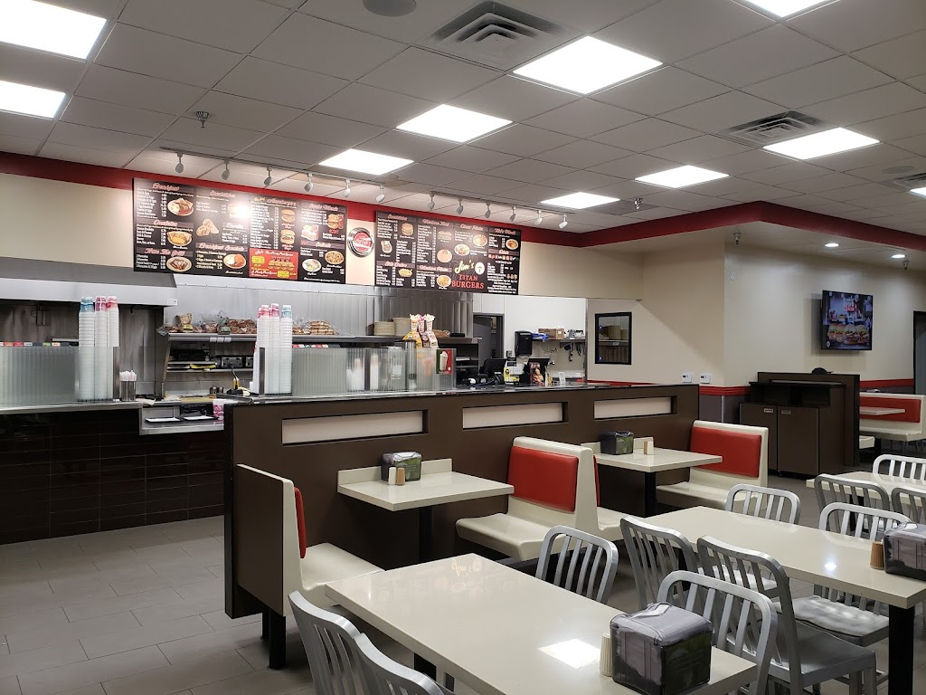 Jims Burgers - restaurant    Photo 1 of 10   Address: 805 S Euclid Ave, Ontario, CA 91762, USA   Phone: (909) 983-3412
