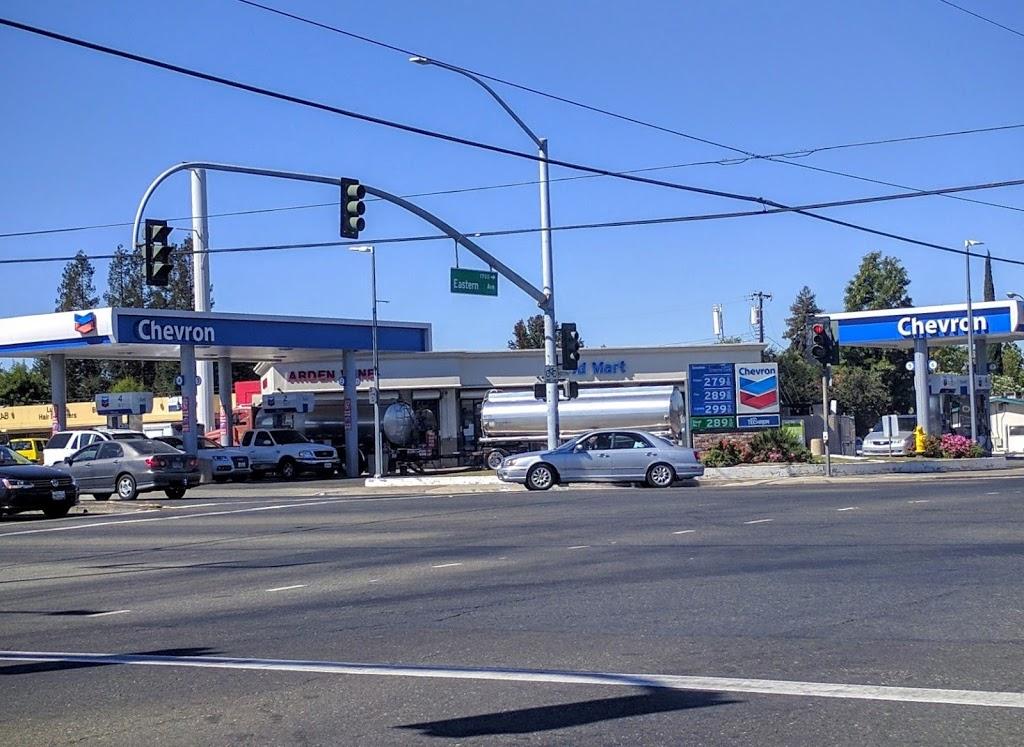 Chevron - gas station    Photo 3 of 5   Address: 4231 Arden Way, Sacramento, CA 95864, USA   Phone: (916) 487-4204