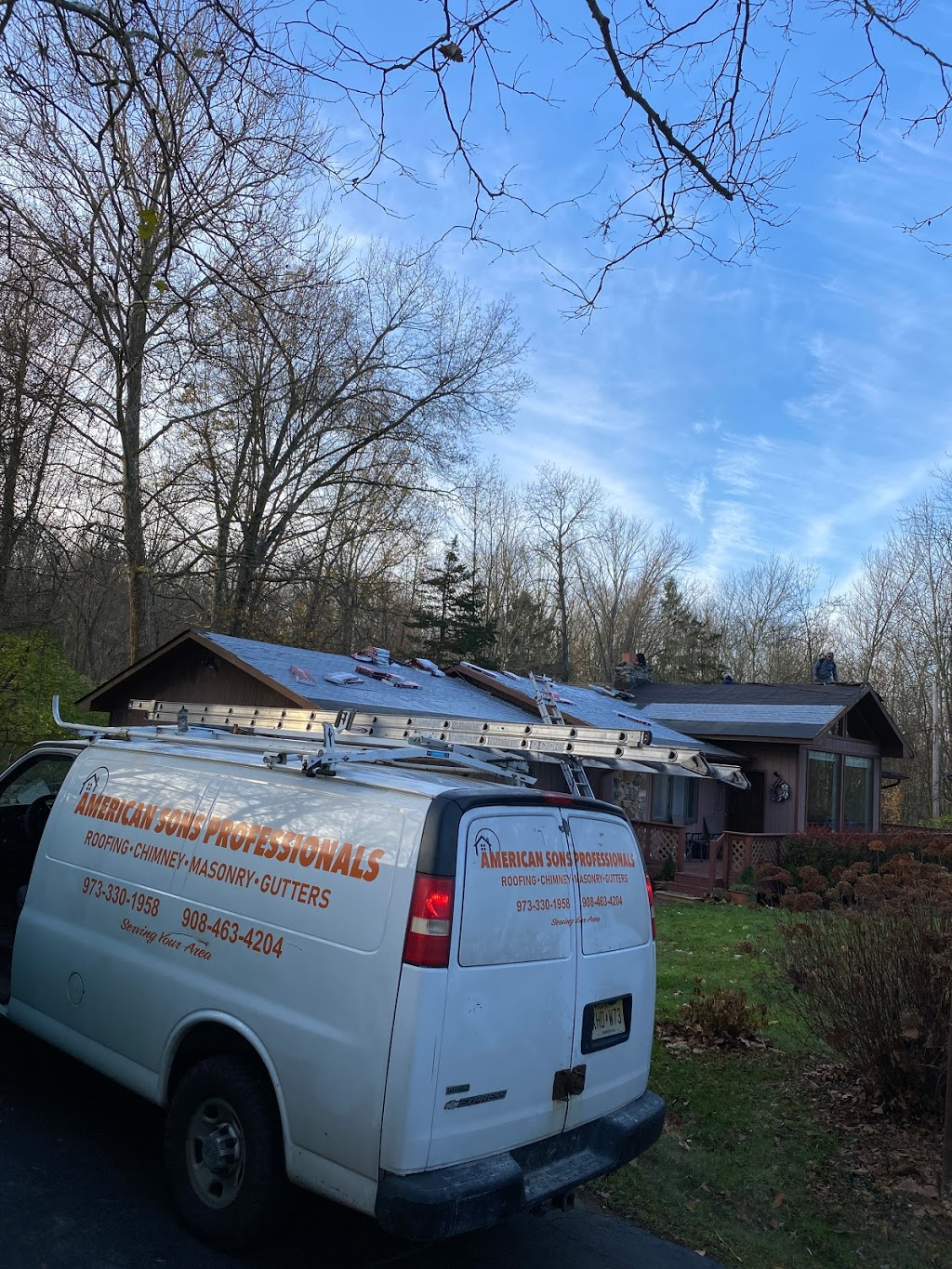 American Sons Professionals Roofing & Chimney - roofing contractor  | Photo 7 of 10 | Address: 425 Riverside Dr, Wayne, NJ 07470, USA | Phone: (201) 396-5509